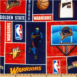 NBA Fleece Golden State Warriors Blocks Navy