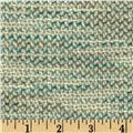 Boucle Coating Fancy Teal/Cream