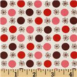Flea Market Fancy Legacy Collection Flower &amp; Dot Red