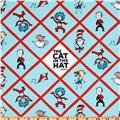 The Cat In The Hat Flannel Blocks Bright