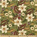 0272270 Sweet Home Large Floral Green