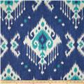 Magnolia Home Fashions Dakota Ikat Ocean