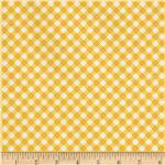 204973 Riley Blake Hello Sunshine Plaid Yellow