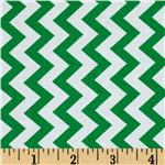 0285402 Chevron Chic Simple Chevron Green