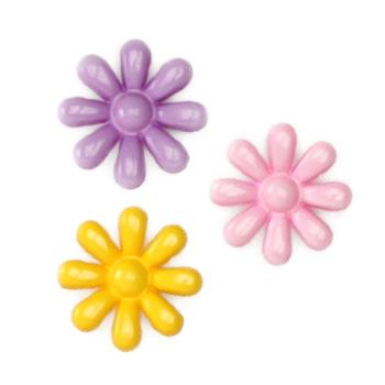 Novelty Button 5/8'' Flower Shower St Multi