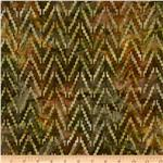 Artisan Batik Sante Fe Trail 3 Chevron Cactus
