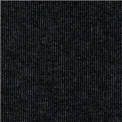 Ribbed Double Knit Black
