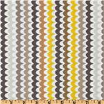 Michael Miller Citron Gray Spa Scallop Citron