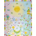 FV-348 Garden Baby Panel Yellow