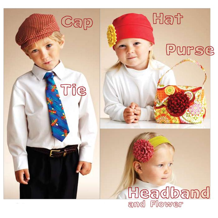 Kwik Sew Children&#39;s About Town Accessories Pattern
