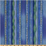 Gypsy Wind Stripes Blue