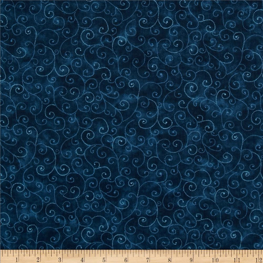 Moda Marble Swirls (9908-95) Stormy Sea