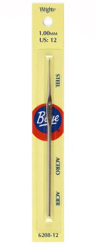 Boye Steel Crochet Hook 5'' Size 12