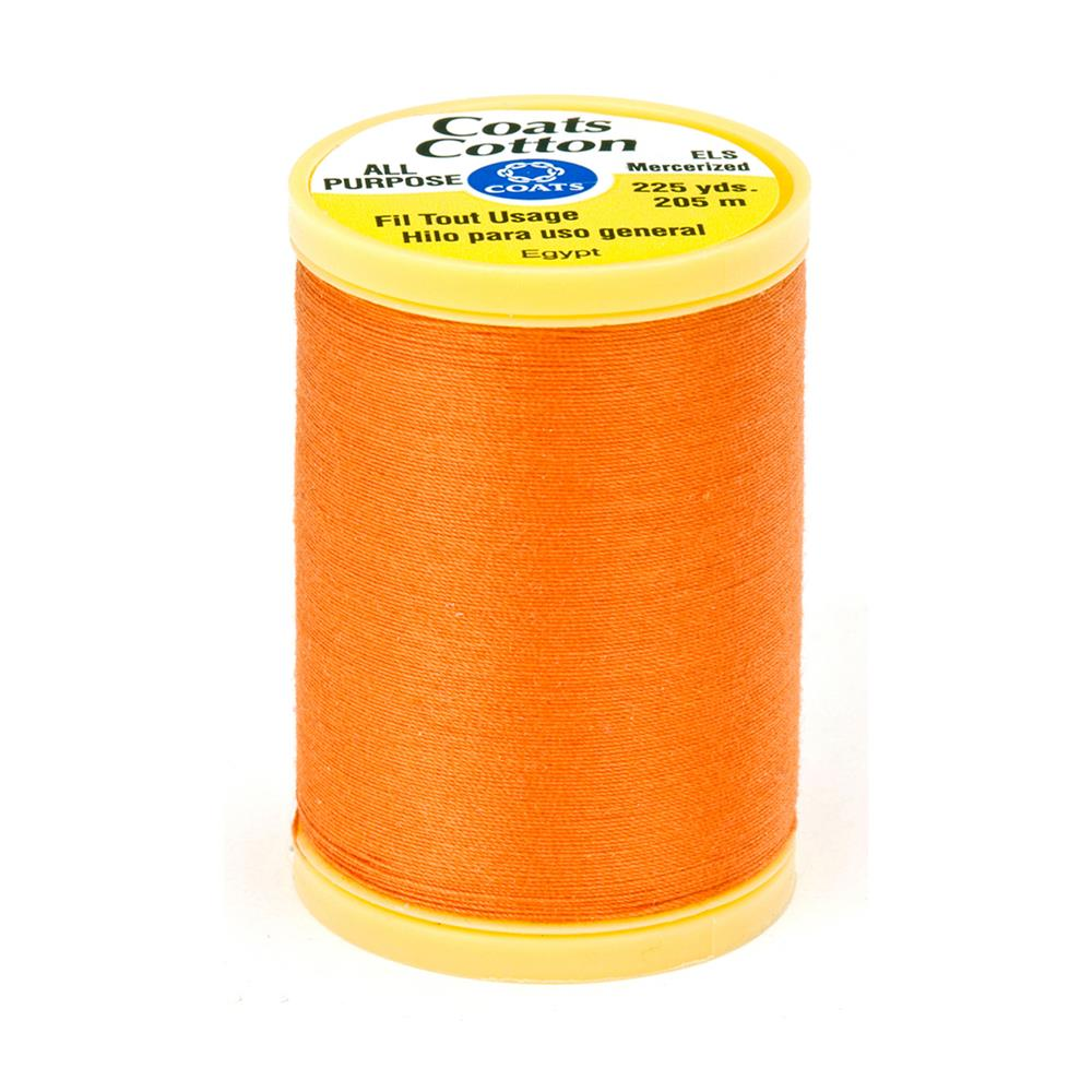 Coats & Clark General Purpose Cotton 225 yd. Tangerine