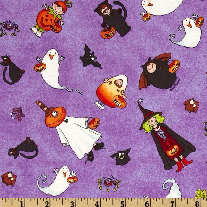 Pumpkin Gang Costumes Purple