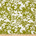 0263364 Crazy Daisy Flowers Green