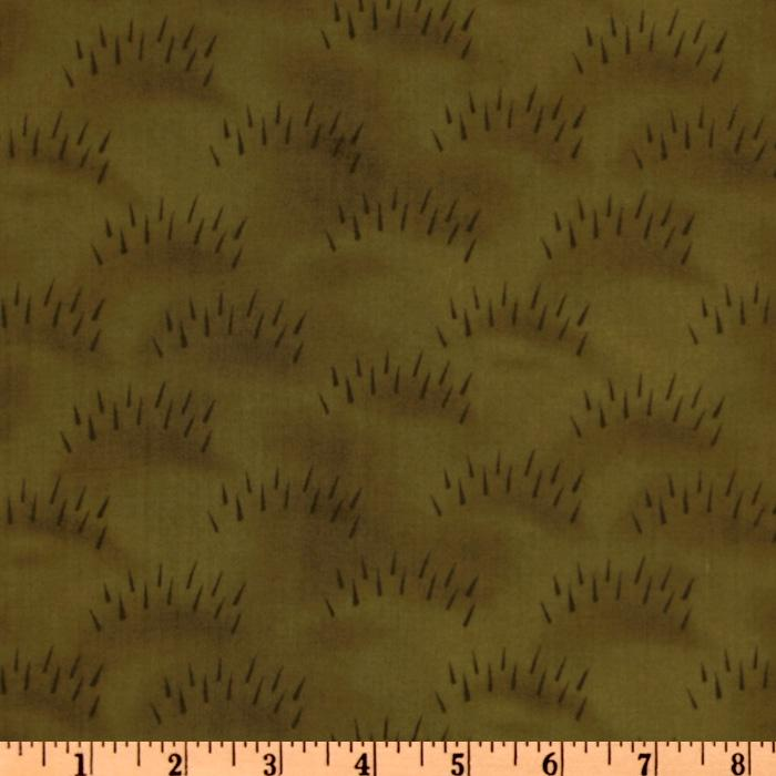 Haunted Hollow II Fur Dark Green