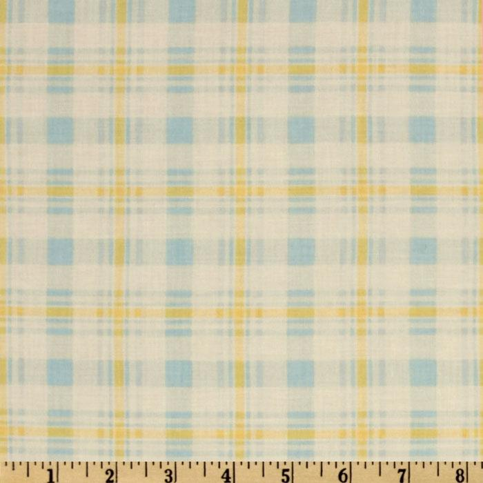 Plaid Blue/Yellow