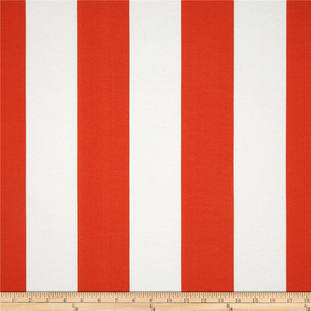 Premier Prints Indoor/Outdoor Vertical Stripe Orange