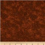 0268812 Tic Tac Flannel Cinnamon Brown
