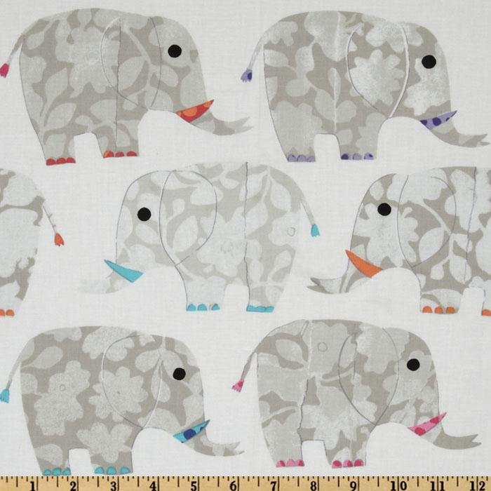 Play Date Elephants White