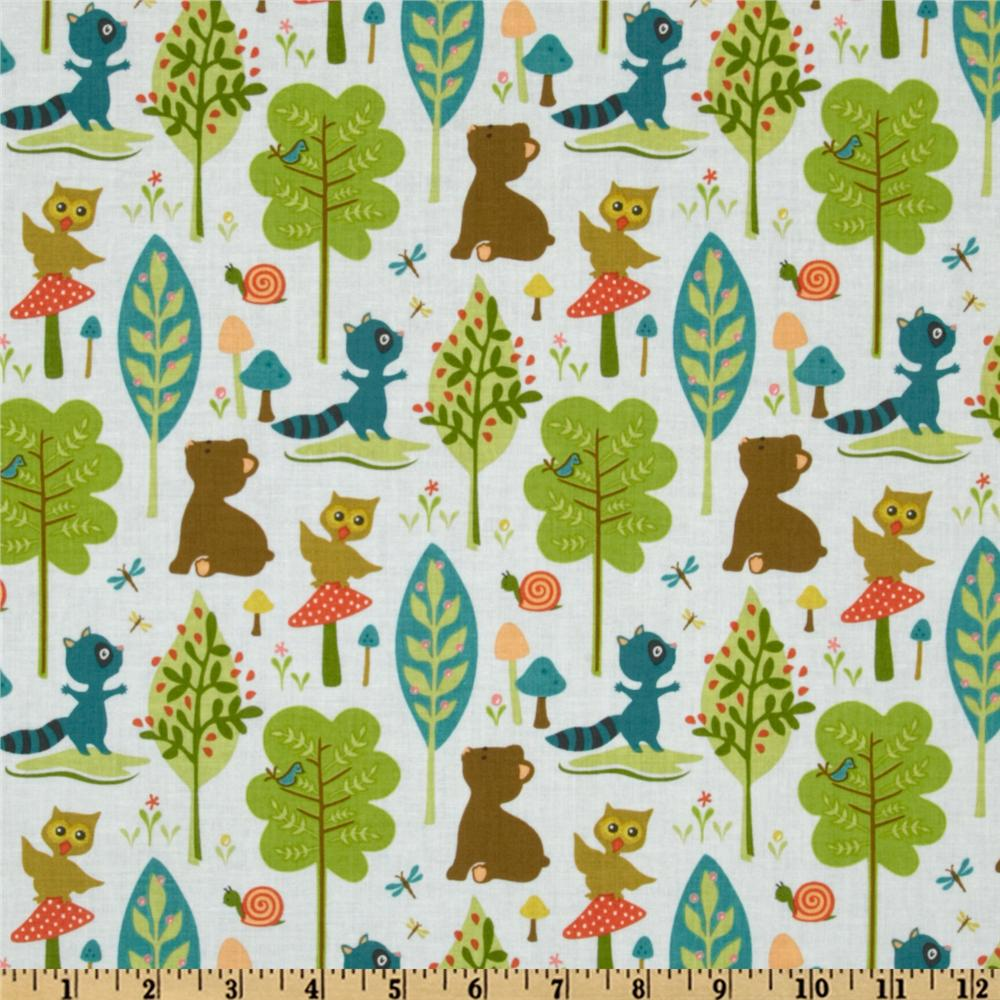 Woodland Tails Bear Blue