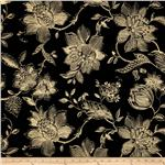 Golding Fabrics French QuarterJacquard Ebony