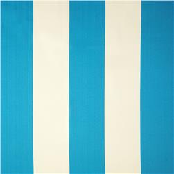 Bella-Dura Eco-Friendly Indoor/Outdoor Cabana Stripe Teal