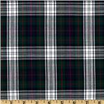 Kaufman House of Wales Plaid Shirting Navy
