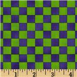0293454 Graphix Checkered Lime Purple