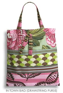 Amy Butler Patterns In Town Bags