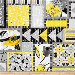 Contempo Cosmopolitan Patchwork Yellow