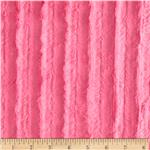 0284032 Minky Velvet Plush Cuddle Hot Pink