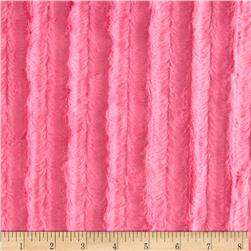 Minky Velvet Plush Hot Pink