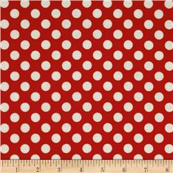 Jungle Polka Dot Red