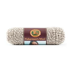 Lion Brand Fishermen's Wool Yarn (200) Oak Tweed