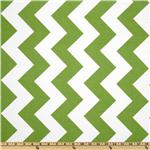 Riley Blake Chevron Large Green