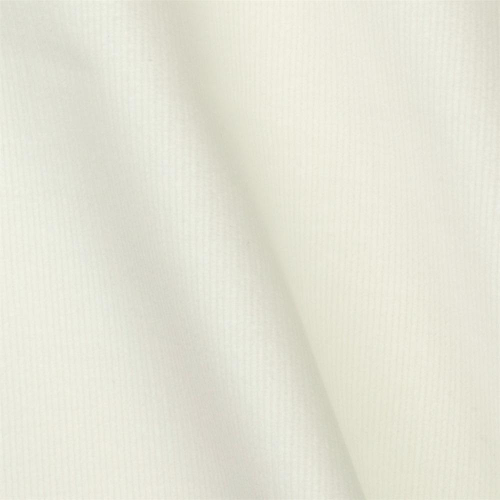 Robert Kaufman Stretch Corduroy 26 Wale White