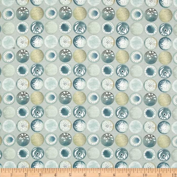 Alchemy Abstract Sand Dollars Olive
