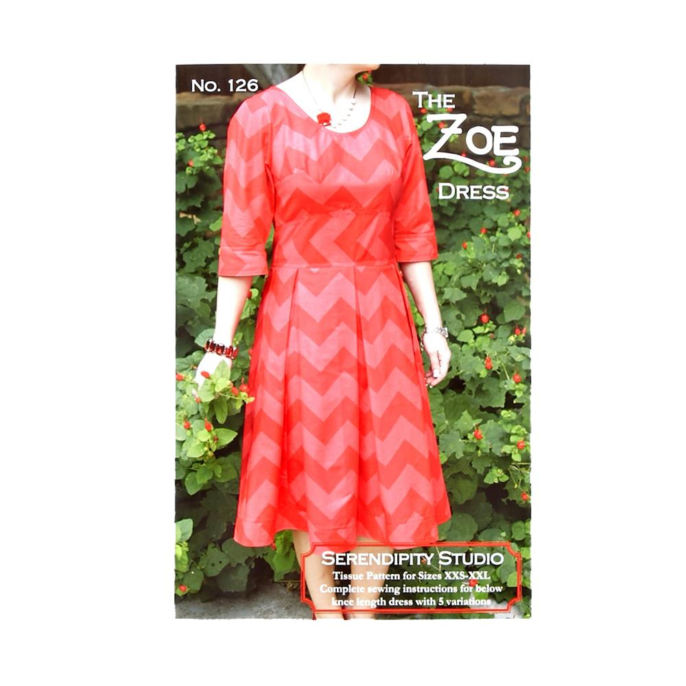 Serendipity Studio The Zoe Dress Pattern