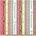 DeLovely Cutesy Border Stripe White/Multi