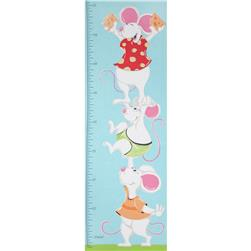 Lewe & Norton Panel Growth Chart Mouse Blue