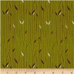 223835 Blue Skies Stem Stripes Olive