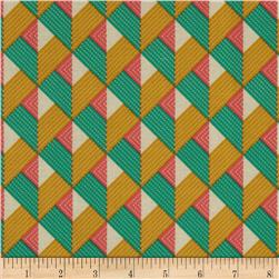 Joel Dewberry Bungalow Chevron Emerald
