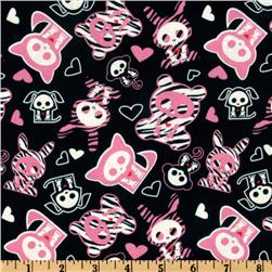 Skelanimals Fun Black/Hot Pink