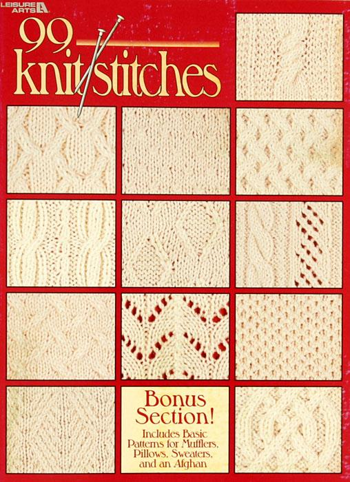 Leisure Arts &quot;99 Knit Stitches&quot; Book