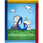 0285370 Peanuts Project Linus Panel Blue