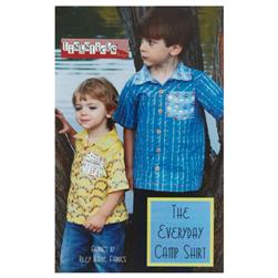 Fishsticks Everyday Camp Shirt Pattern