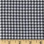 0269699 Great Scotts Flannel Houndstooth White