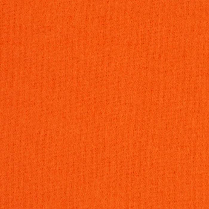 Kaufman Flannel Solid Tangerine